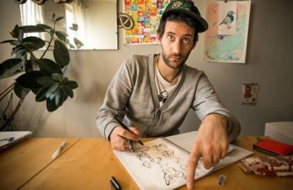 Artist Focus: Jon Burgerman