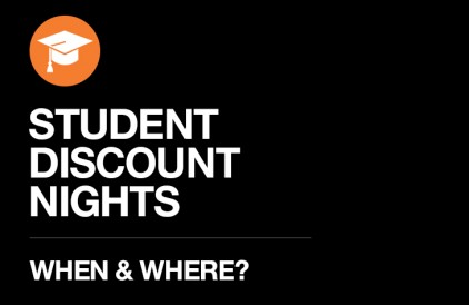 Student Discount Nights – When & Where?