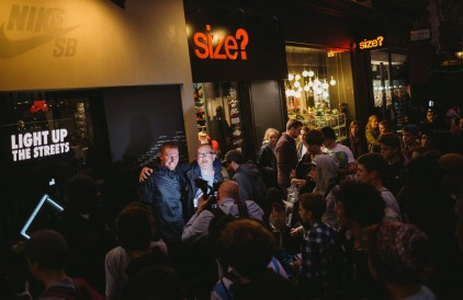 RECAP: Nike SB 'Light Up The Streets' Event at size? Carnaby Street