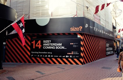 size? Amsterdam: Opening December 2014.