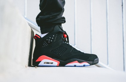 Air Jordan VI – Black / Infrared