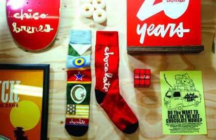 Stance Socks x Chocolate Collection.
