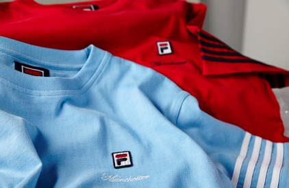 FILA x size? Manchester Collection.