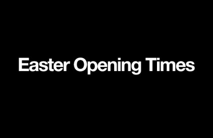 Easter Opening Hours at size?
