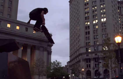 Freestyle Skateboarder Kilian Martin in 'Searching Sirocco'