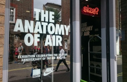 The Anatomy of Air Exhibition: size? Covent Garden