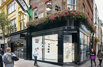 Introducing the adidas BOOST Experience Pop-Up on Carnaby Street