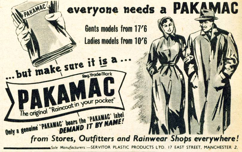 A brief history of waterproof jackets