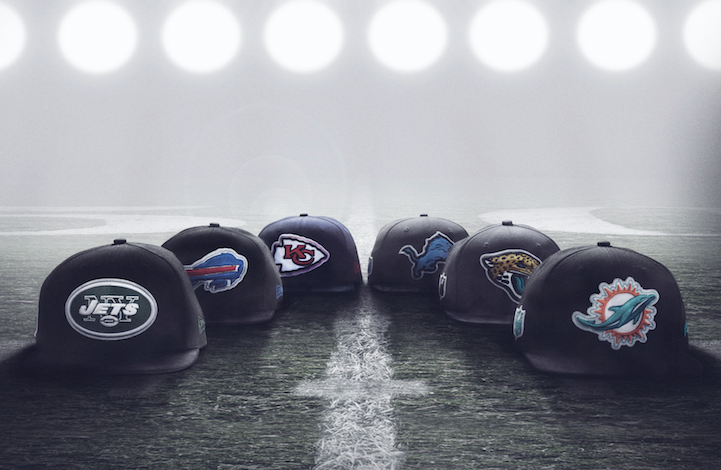 size? x New Era NFL International Series Snapback Collection