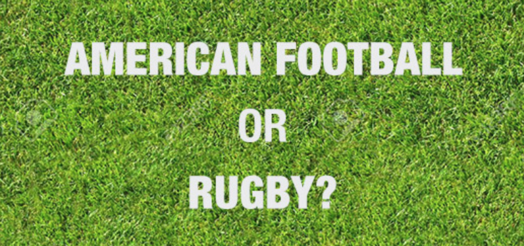size? explains: American Football or Rugby?