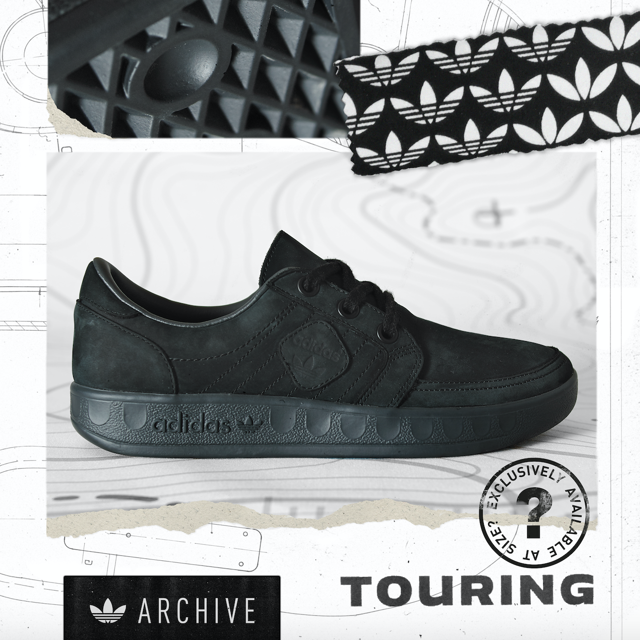 adidas Originals Archive Touring – size? Exclusive