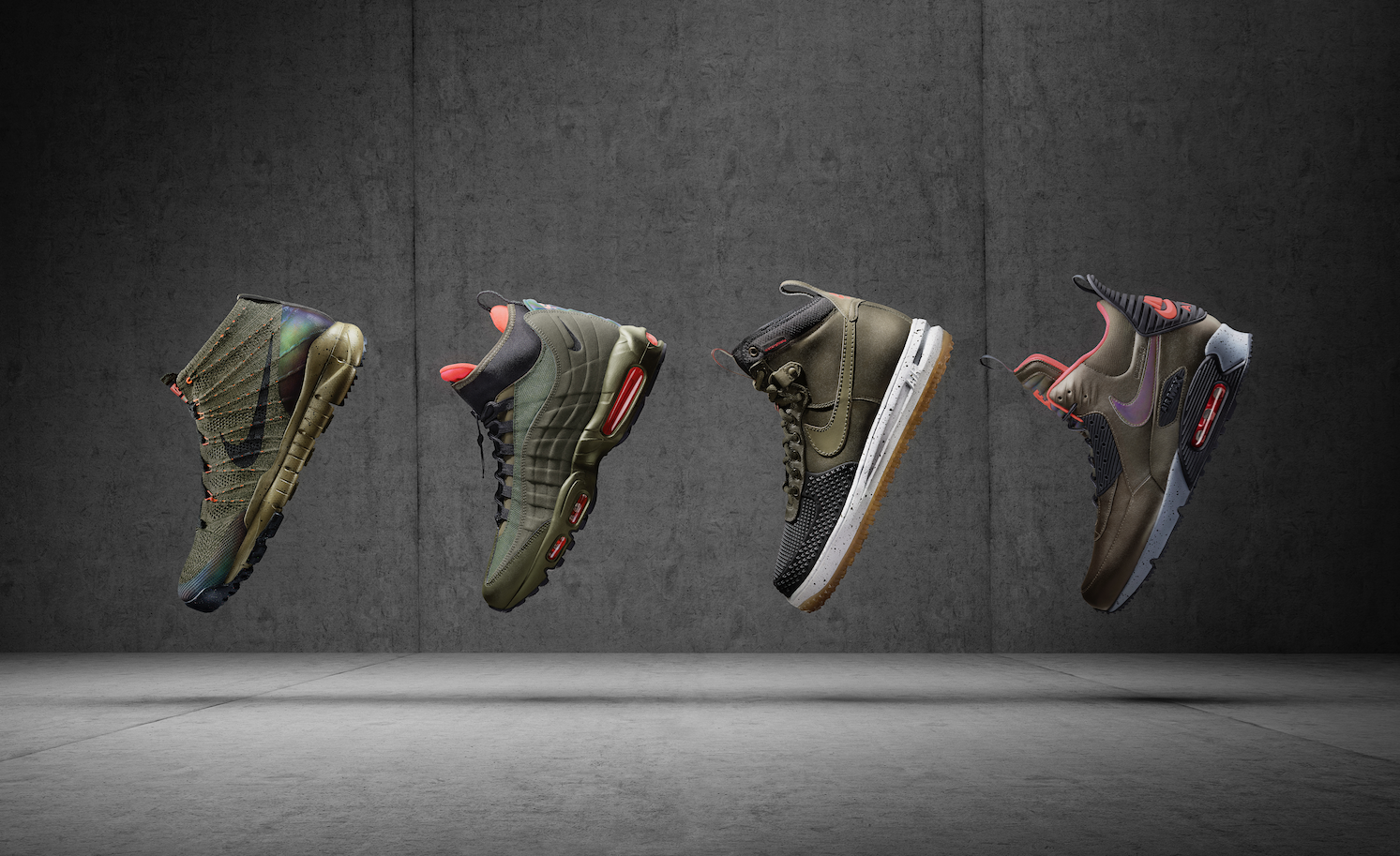The 2015 Nike Sneakerboots Collection.