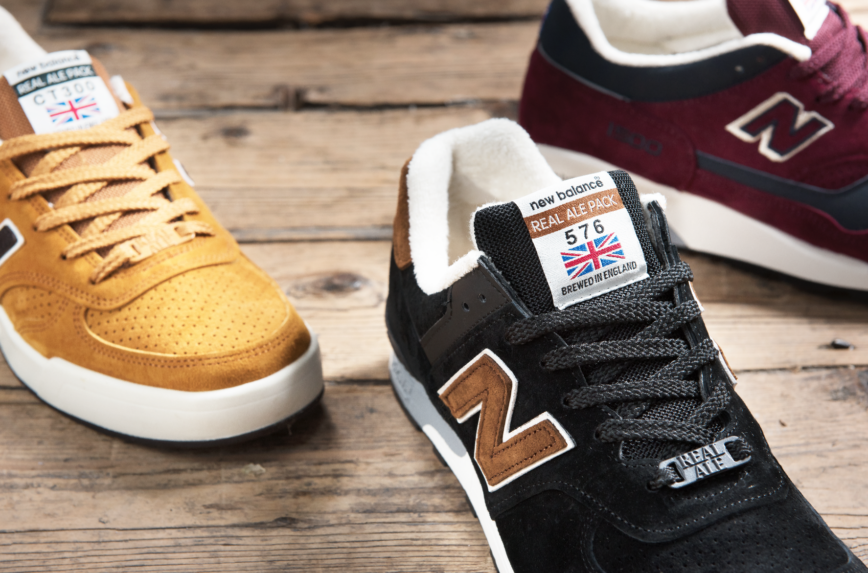 New Balance 'Made in UK' Real Ale Pack.