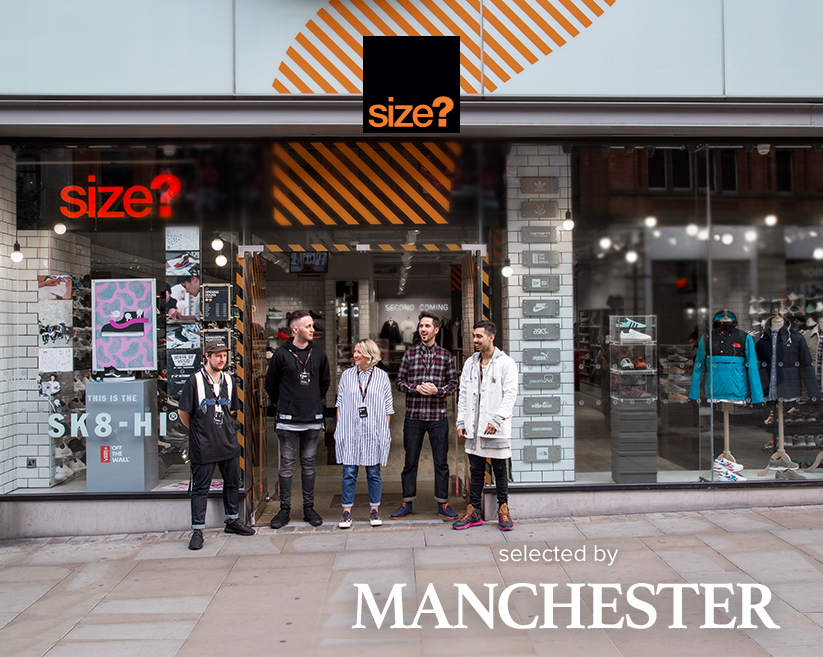 selected by: size? Manchester