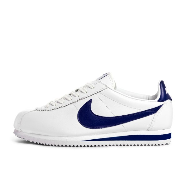 Nike Cortez White Navy Blue Ilpaesechenonceit