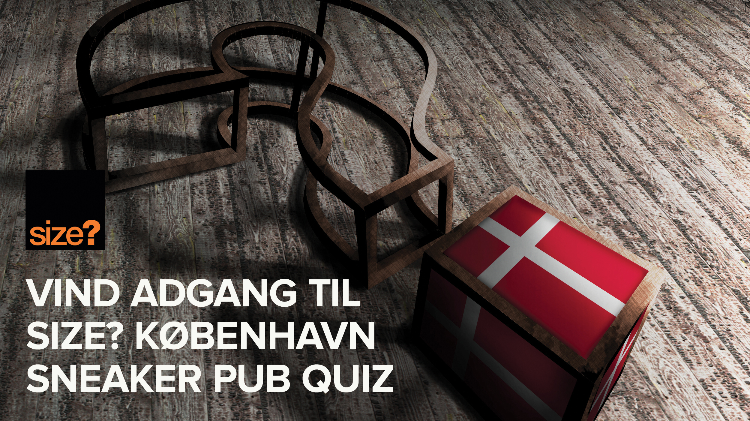 size? Copenhagen Sneaker Pub Quiz.