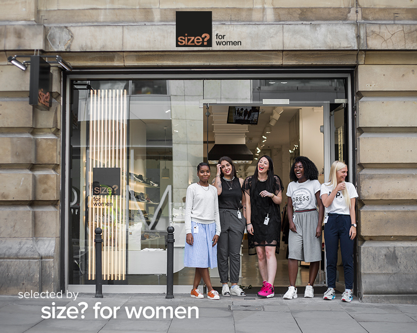 selected by: size? for women