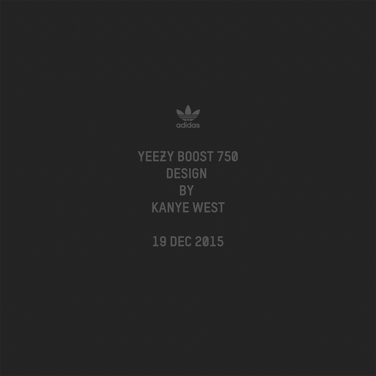 adidas Originals YEEZY BOOST 750 – Release Details