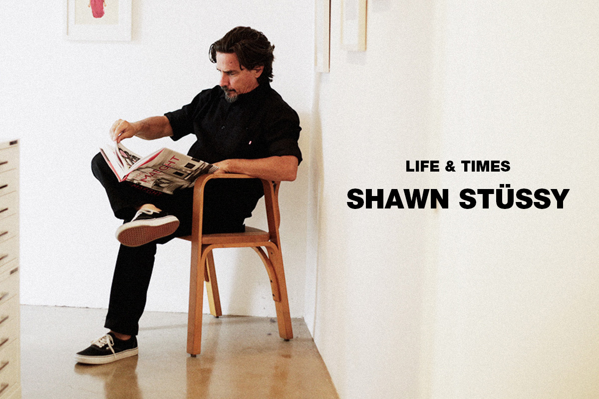 Fashion History Lessons: Shawn Stussy via Highsnobiety