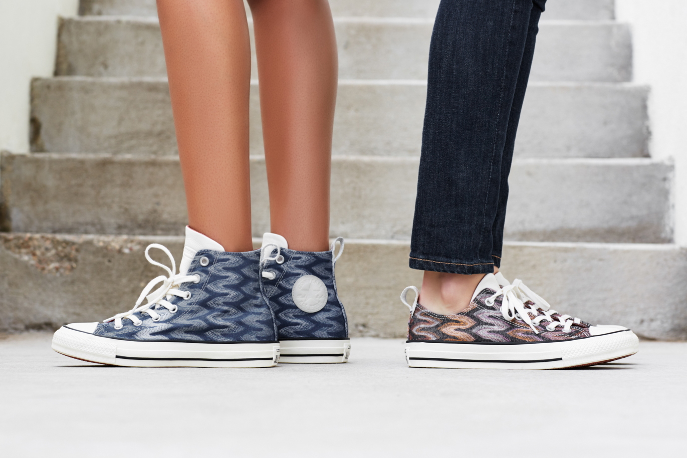 Converse x Missoni Women's collection