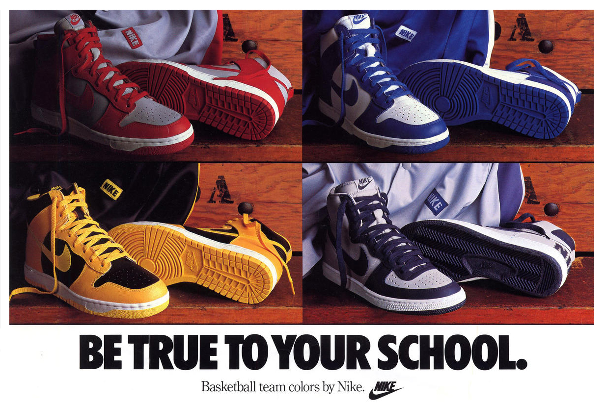 Nike Dunk High Retro – Be True to Your School