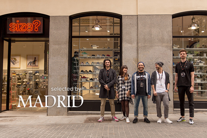 selected by: size? Madrid