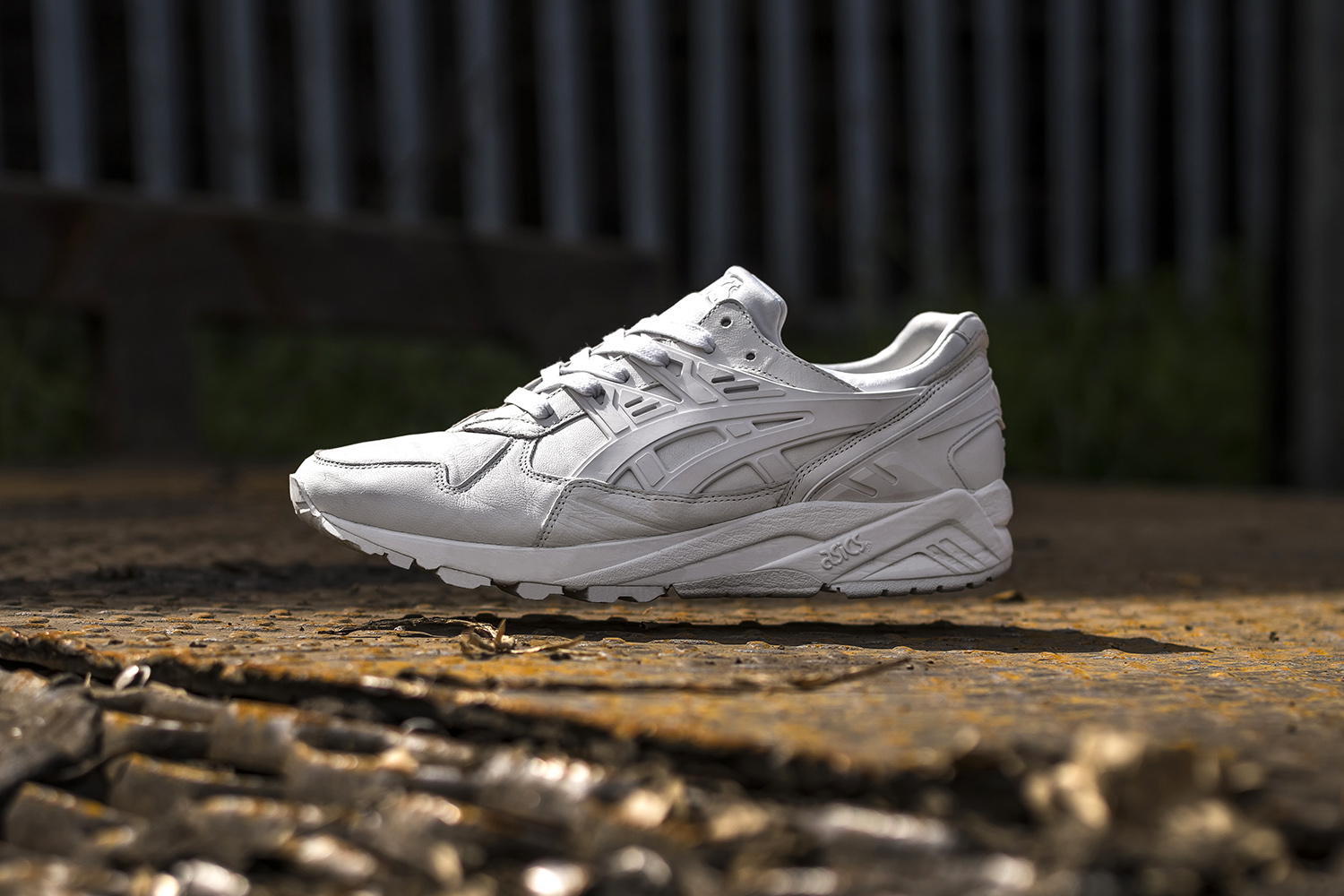 size? x ASICS GEL-Kayano – Italian Leather 'White'
