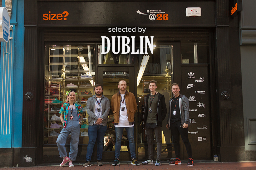 Selected by: size? Dublin