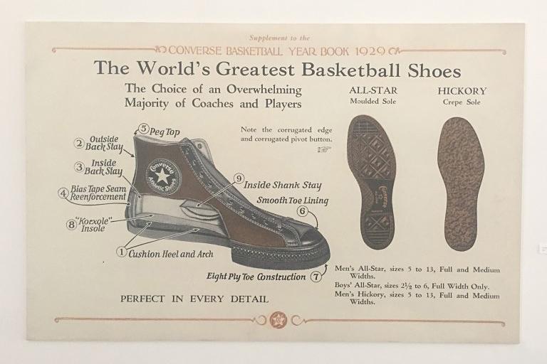 A Brief History of the Converse All Star – Reblog via Gwarizm