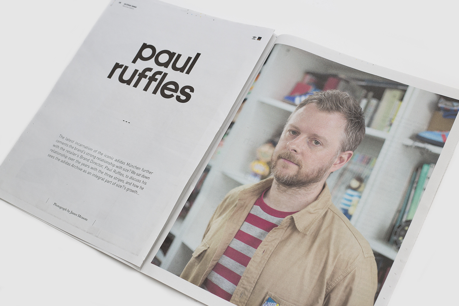 adidas Originals Archive News – An Interview with Paul Ruffles