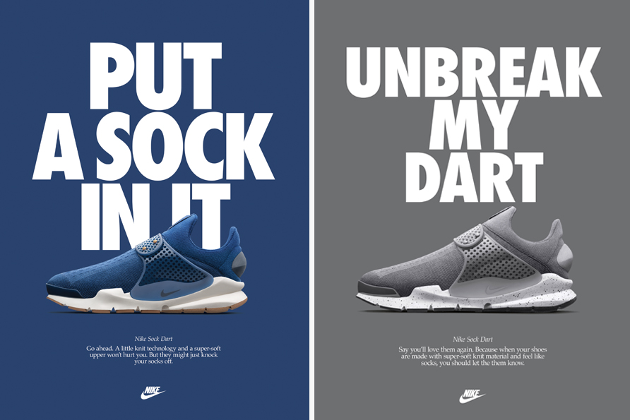 Nike Sock Dart – Twitter Competition