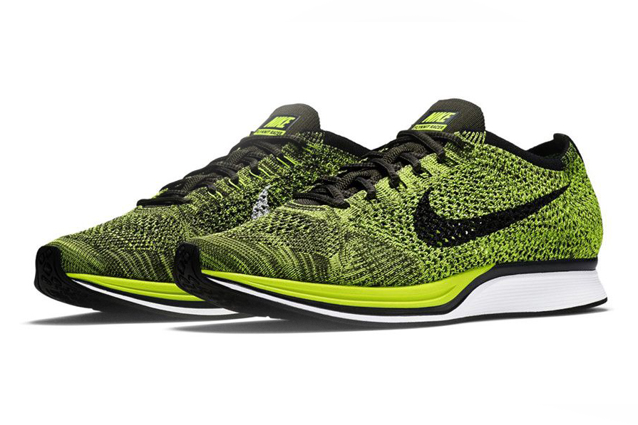 Nike Flyknit Racer 'Volt'