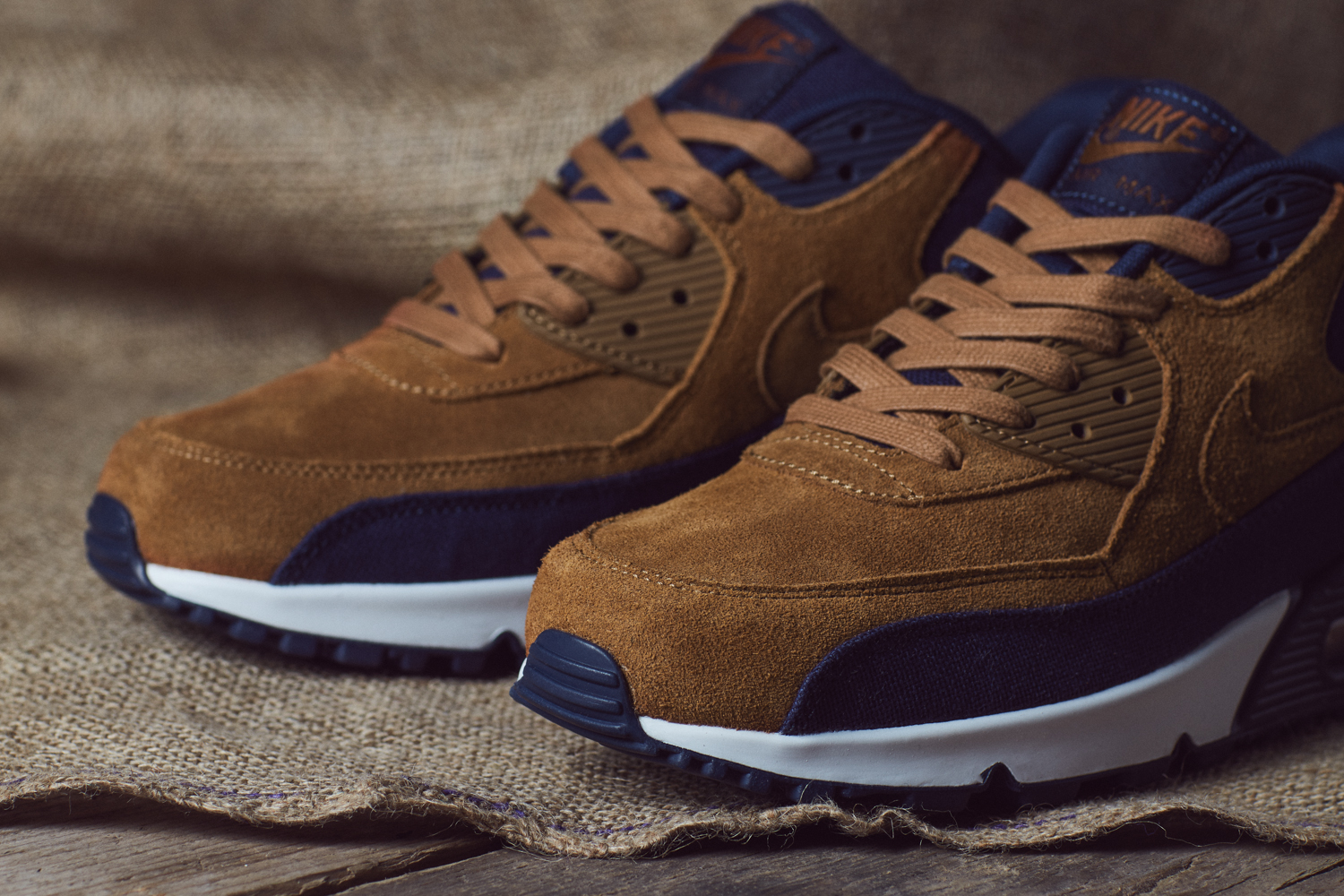 nike air max 90 sneaker boot brown 2015 impala