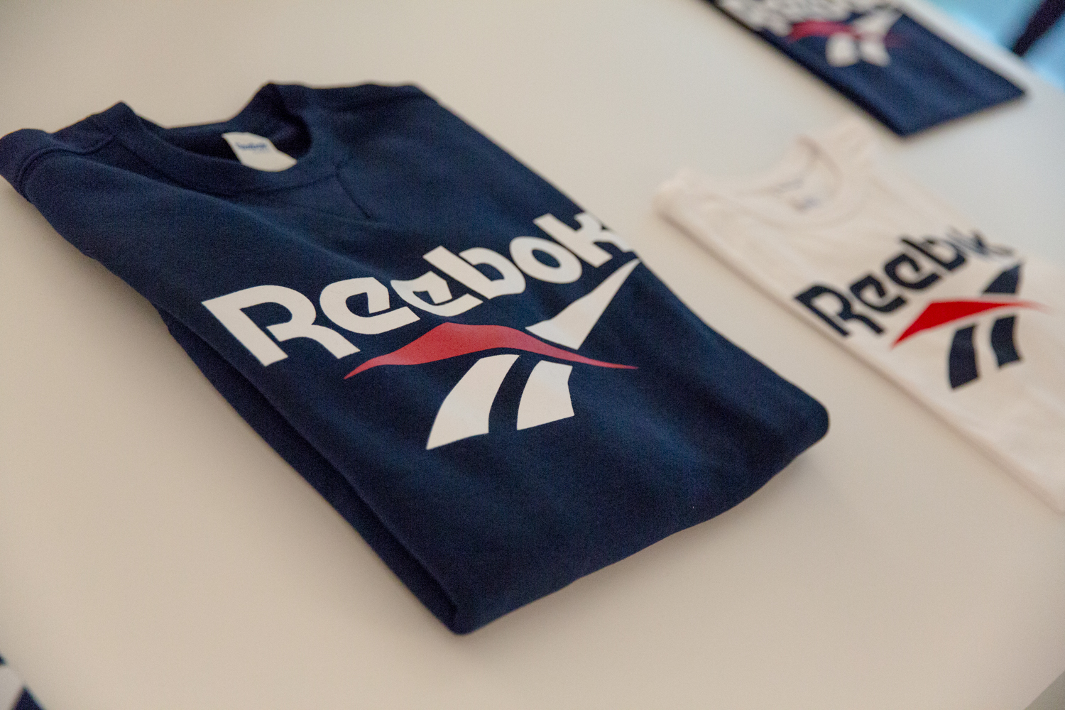 Reebok clothing store