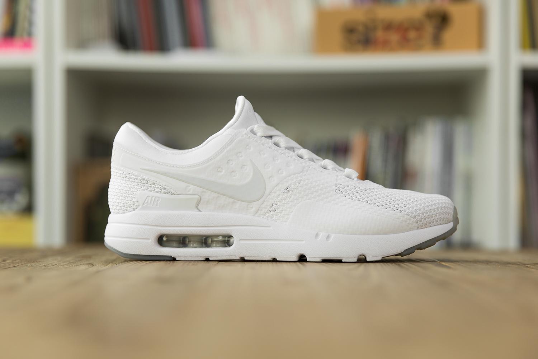 Nike Air Max Zero Triple White Qs