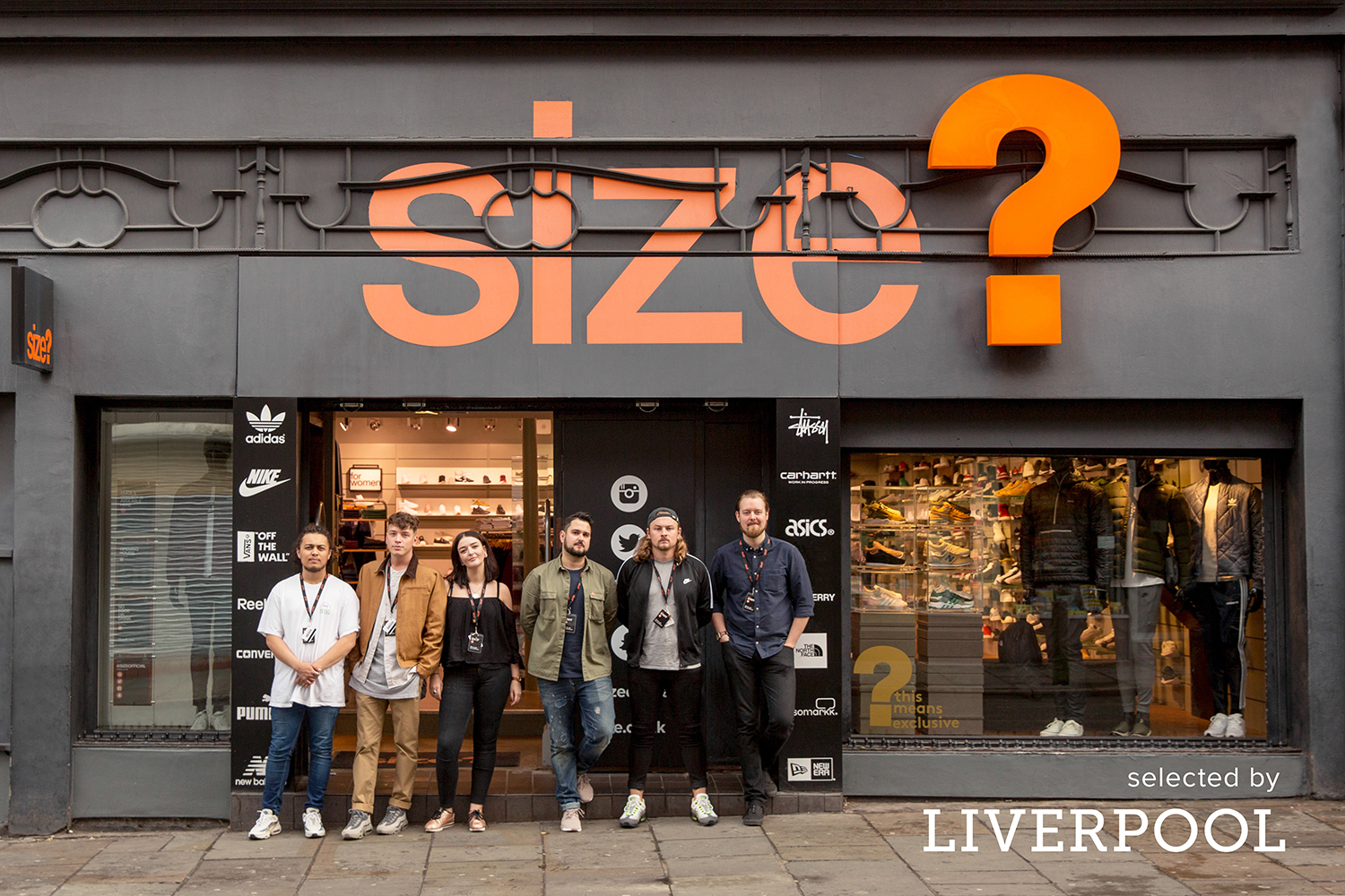 selected by: size? Liverpool