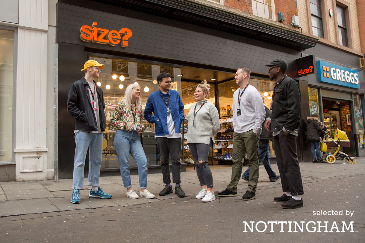selected by – size? Nottingham
