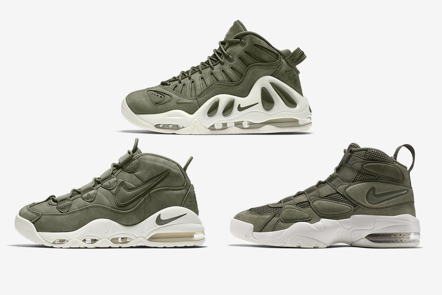 Nike Air Uptempo 'Urban Haze' pack