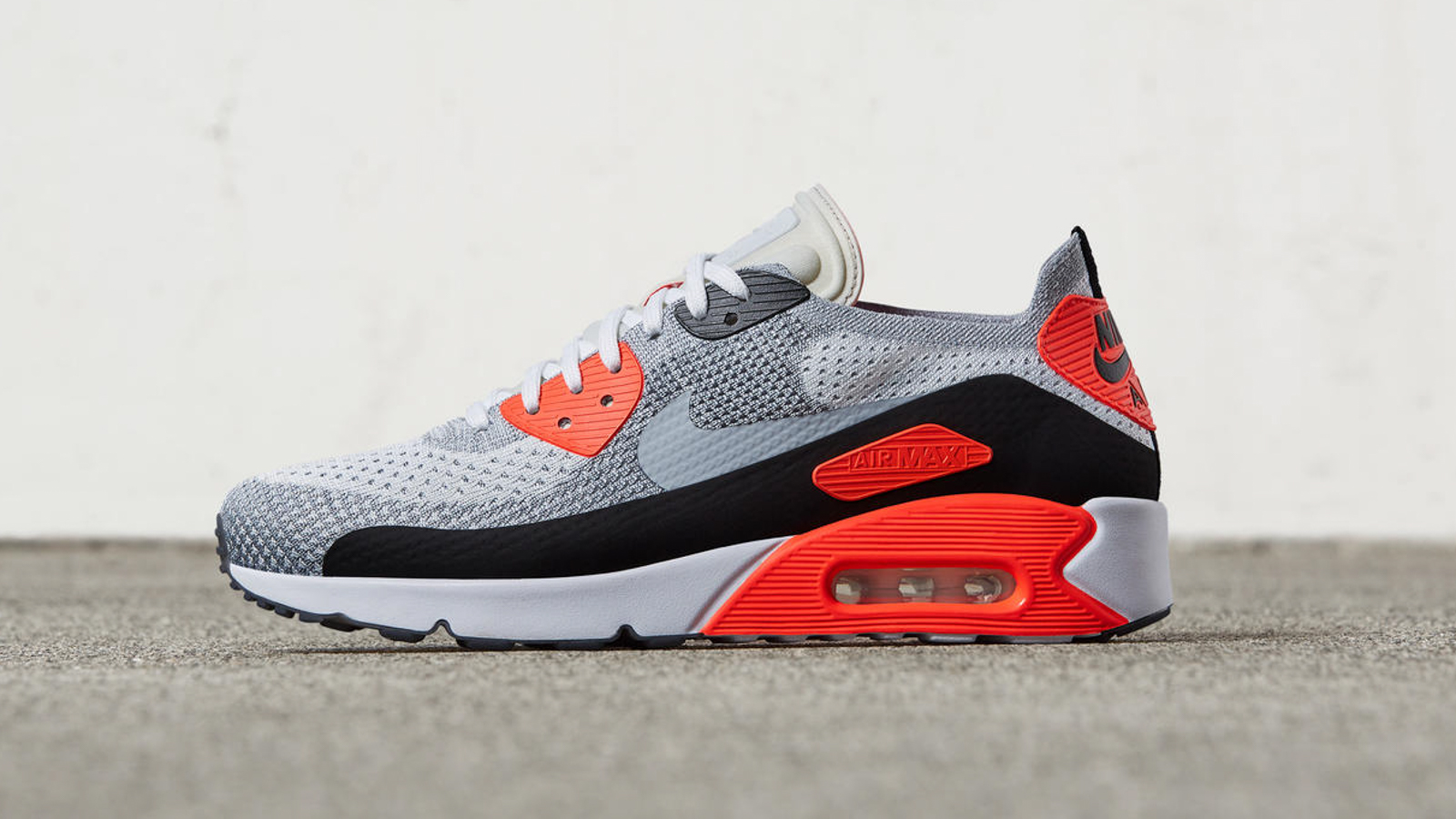 2010 Air Max 90 Flyknit Infrarouge