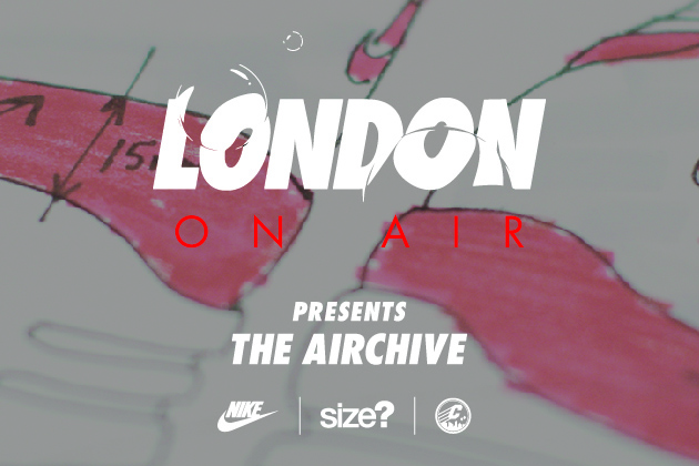 London on Air: The Nike Airchive at Crepe City