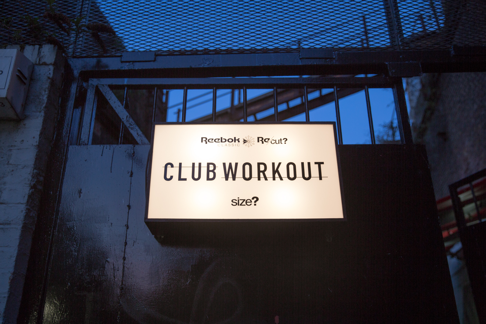Reebok Club Workout – Brixton Launch Event Recap