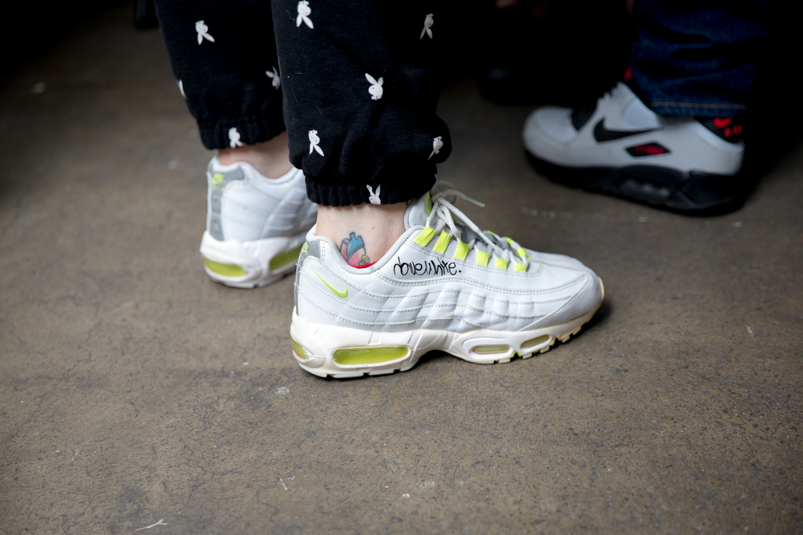 The best trainers on foot at Crepe City
