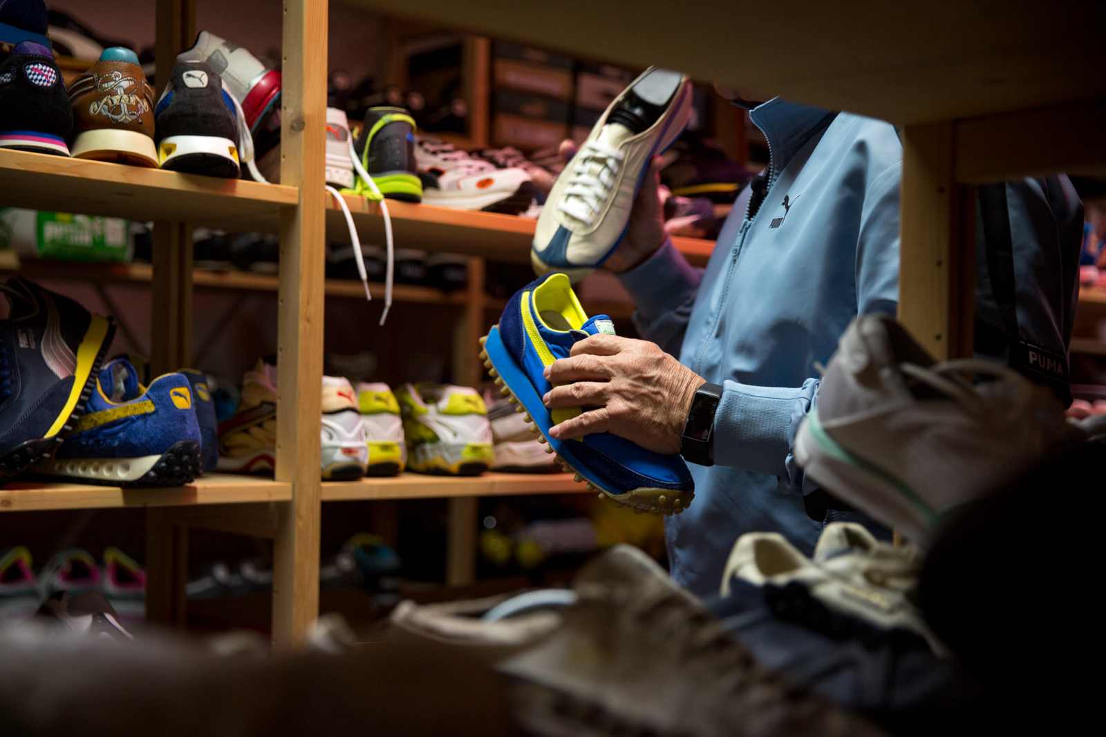 size? Previews The PUMA Archive with Helmut Fischer