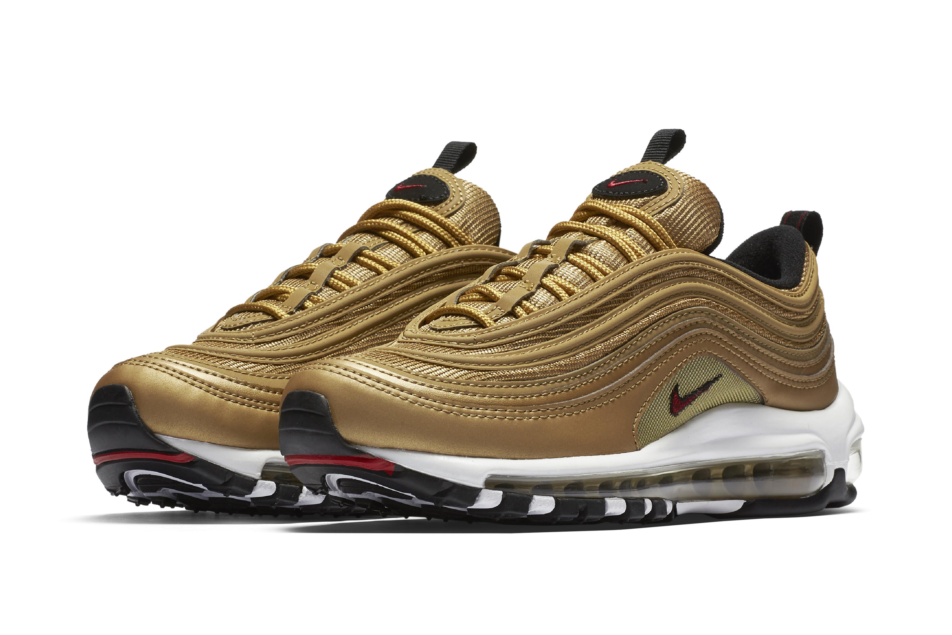 Nike Air Max 97 'Gold'