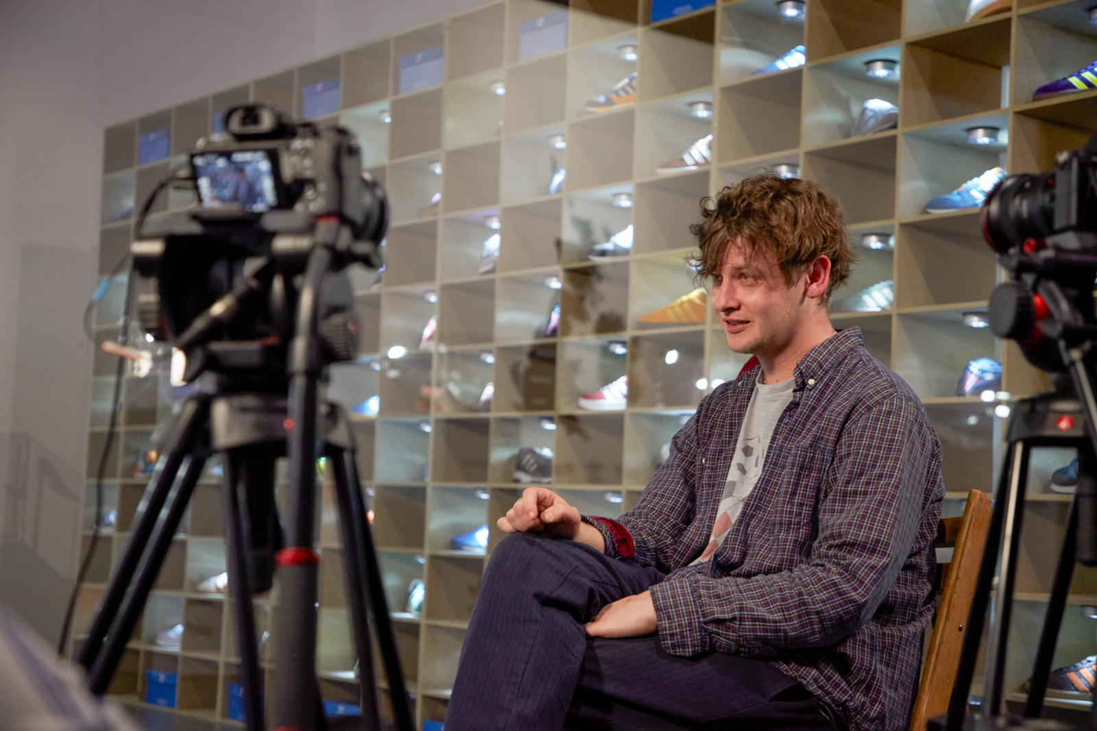 size? sessions – Bill Ryder Jones with adidas Originals
