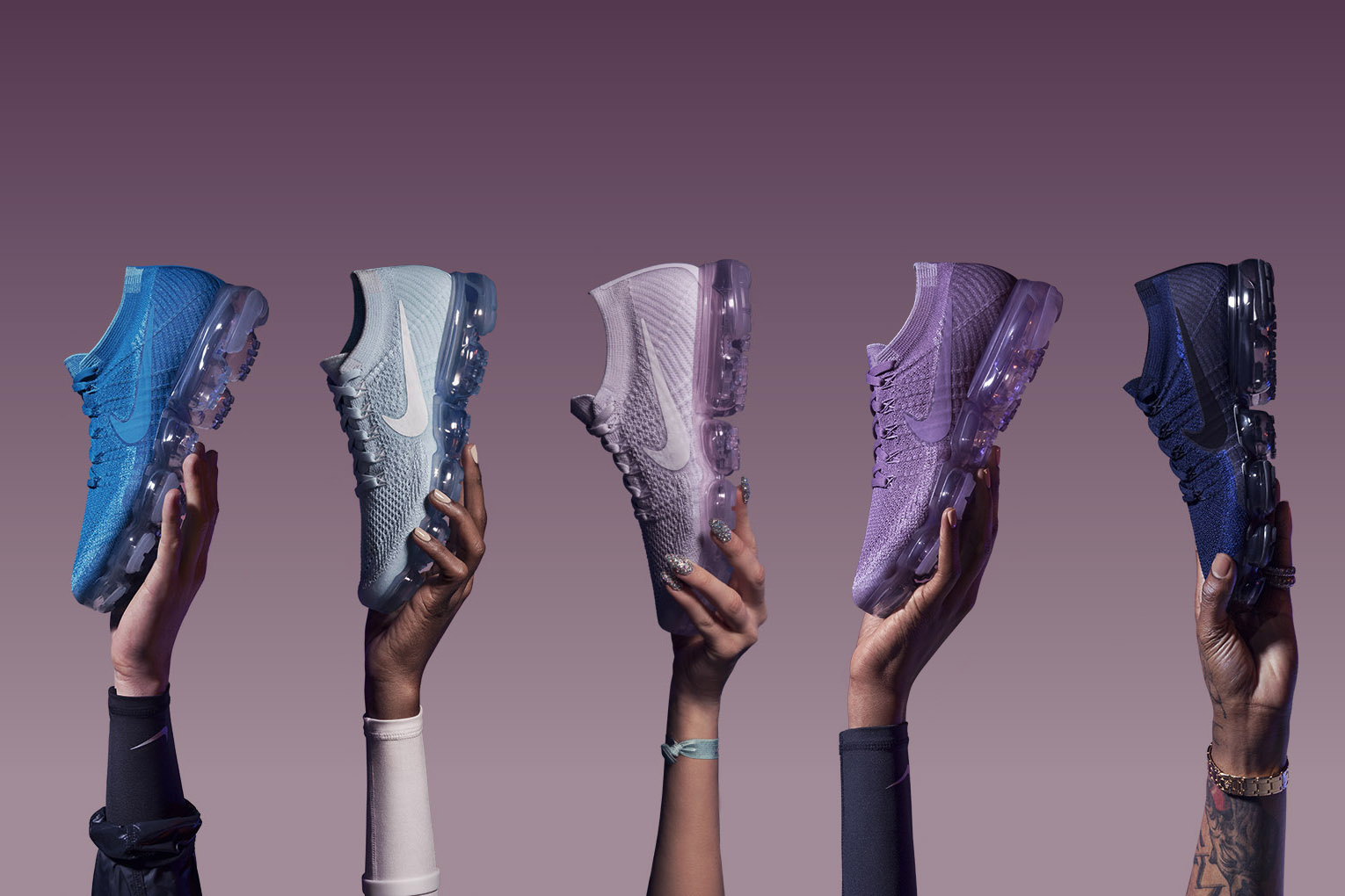 Nike VaporMax 'Day to Night' Collection
