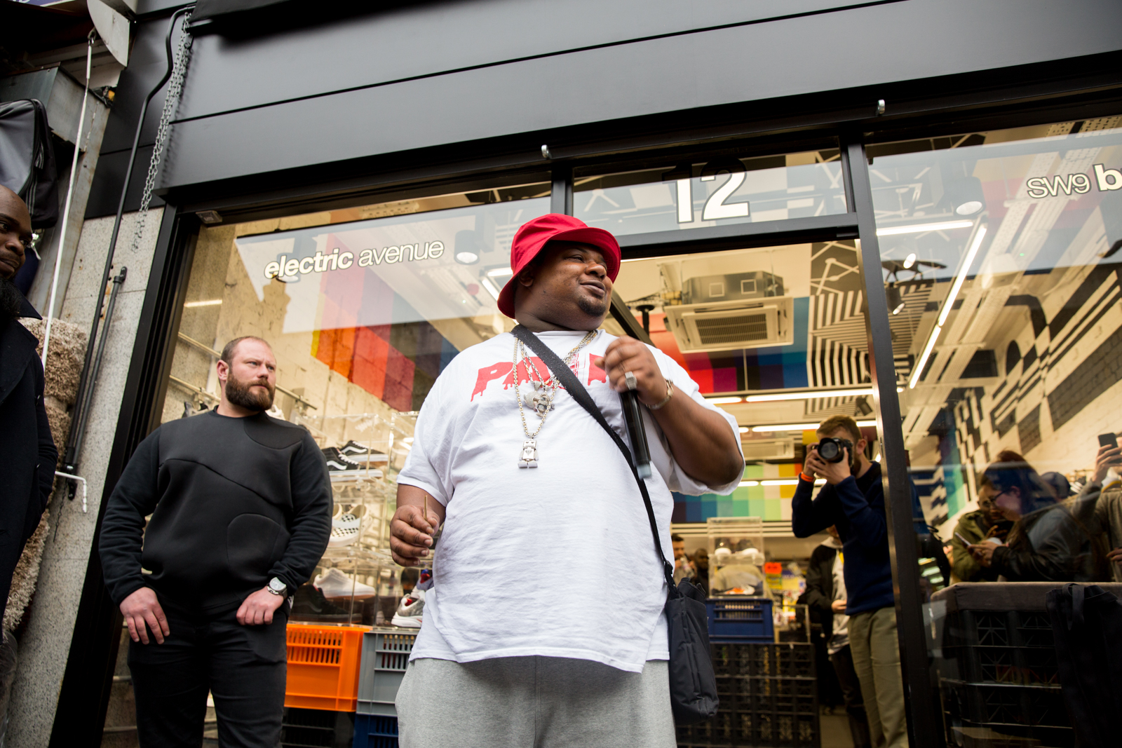size? sessions with Big Narstie