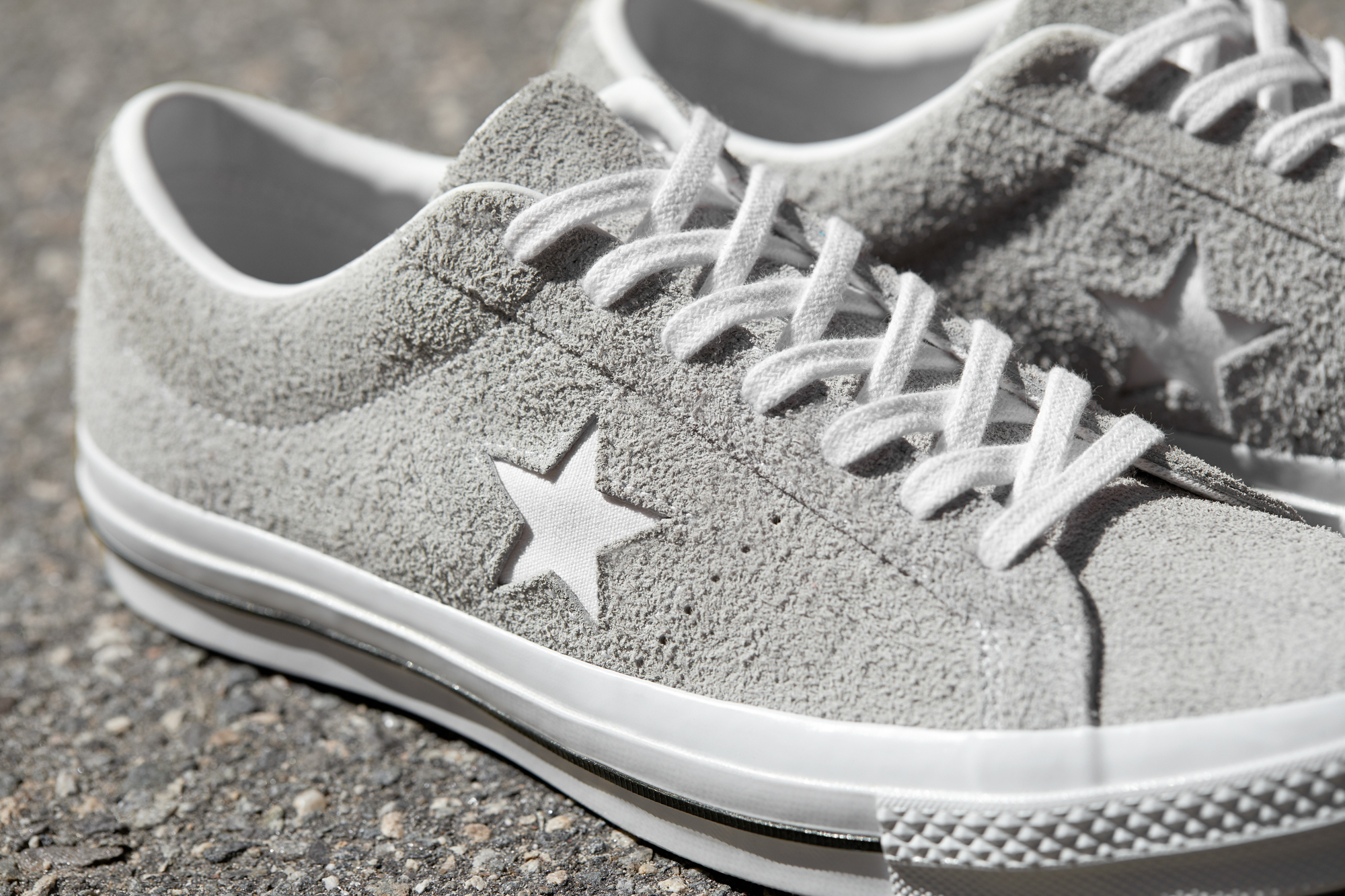 converse one star gray