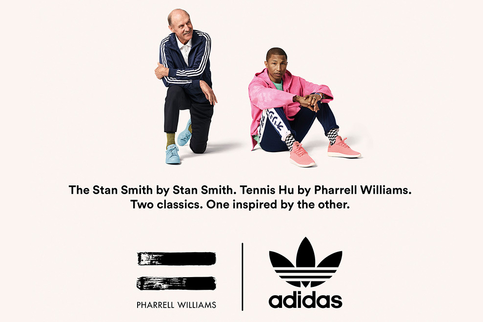 Pharrell Williams x adidas Originals Tennis HU. & Stan Smith 'Icons Pack'