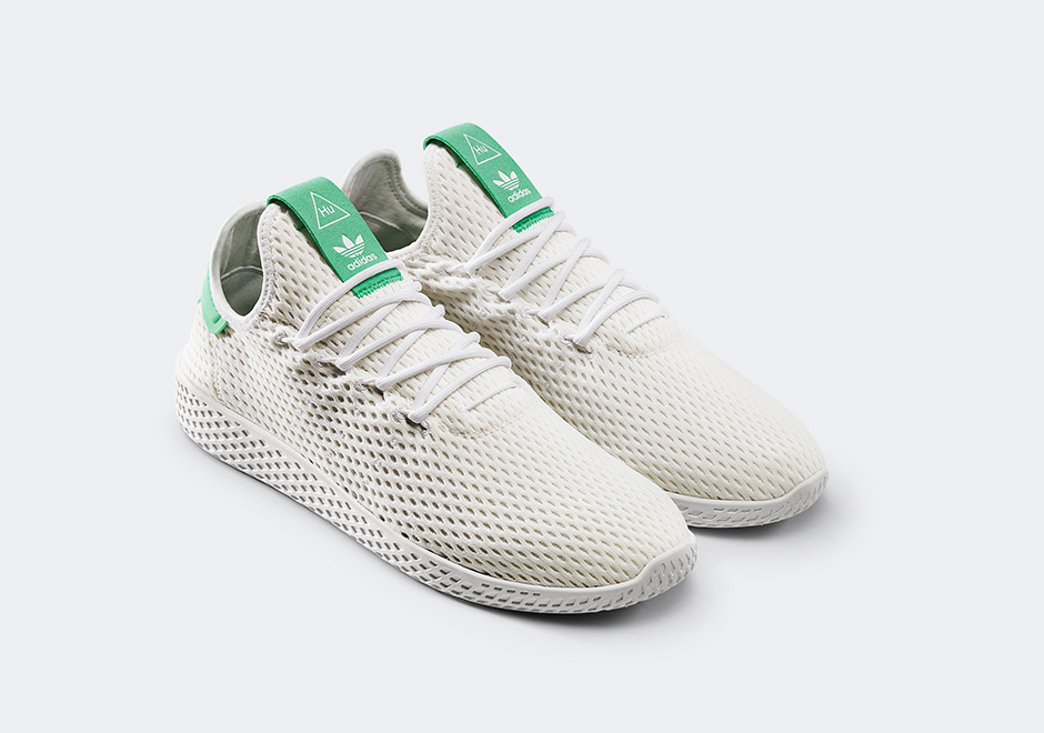 pharrell williams x adidas originali tennis & stan smith le icone